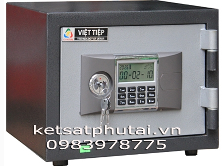 Két sắt mini khóa điện tử báo động Việt Tiệp VK28DT