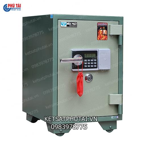 Két sắt Hòa Phát điện tử cao605 KS90-DT