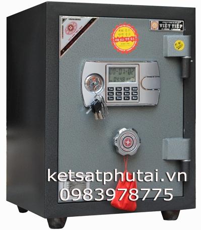 Két sắt Việt Tiệp khóa điện tử báo động VE54