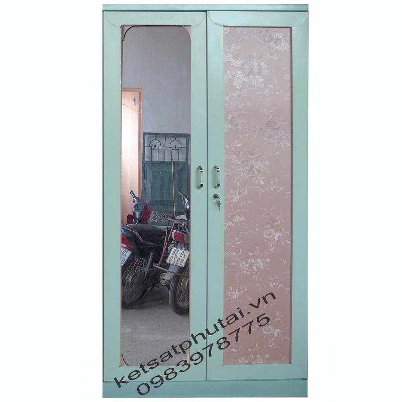 Tủ gương 2 buồng lắp ghép Goonsan TB2CG-X