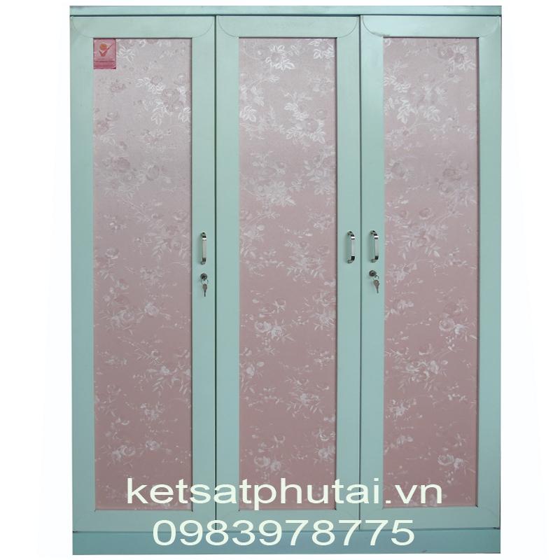 Tủ quần áo 2 khoang 3 cánh kín Goonsan TB3C-X