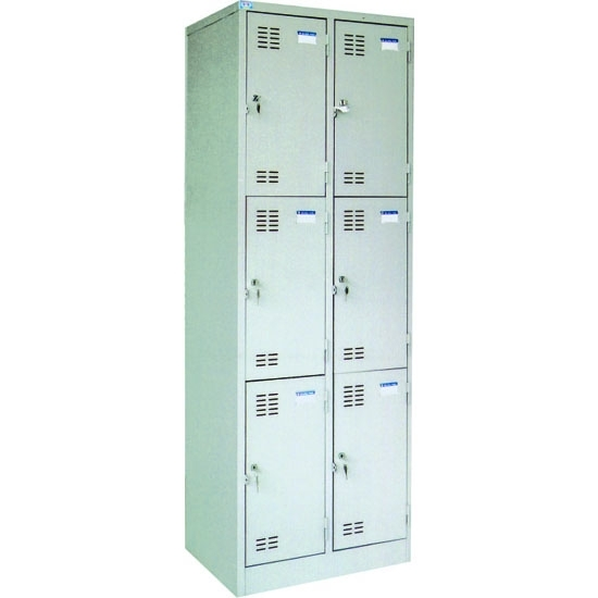Tủ locker Việt Tiệp 3 tầng nhân đôi VTU983-2K