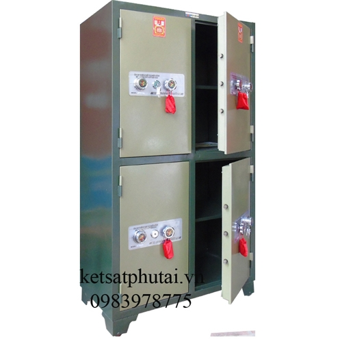 Tủ bảo mật 4 cánh khóa cơ BM-04KC