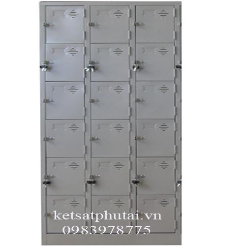 Tủ locker Việt Tiệp 6 tầng nhân ba VTU986-3K