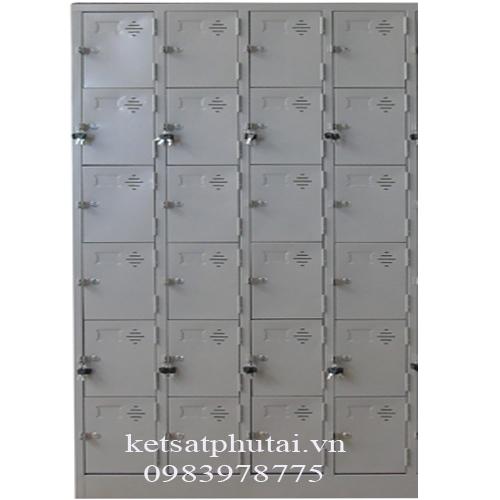 Tủ locker Việt Tiệp 24 ngăn TU986-K4