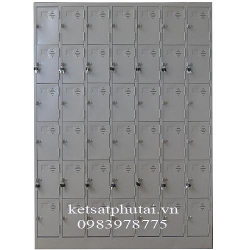 Tủ locker Việt Tiệp 42 khoang TU987-6K