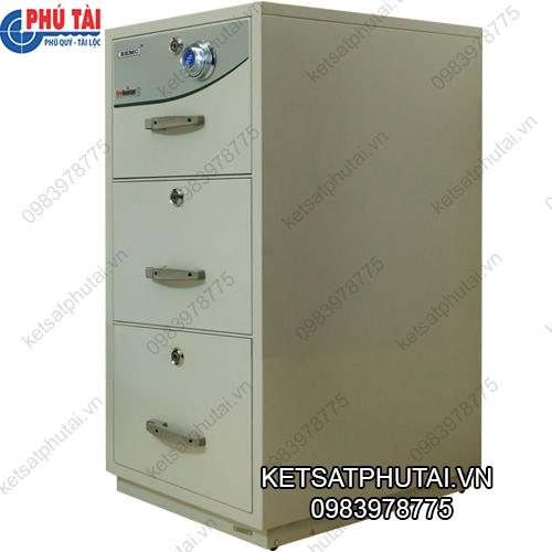 Tủ sắt chống cháy 3 ngăn