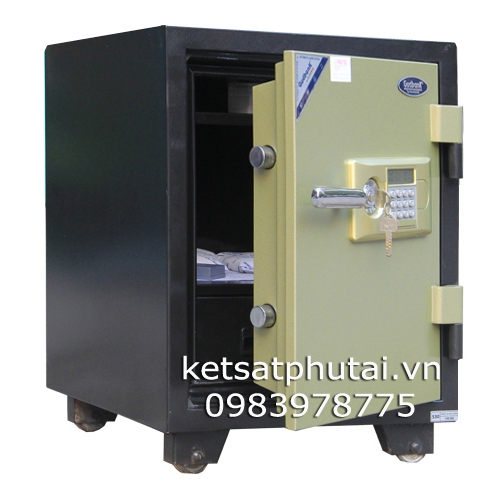 Két sắt điện tử có báo động Gudbank GB530ALD