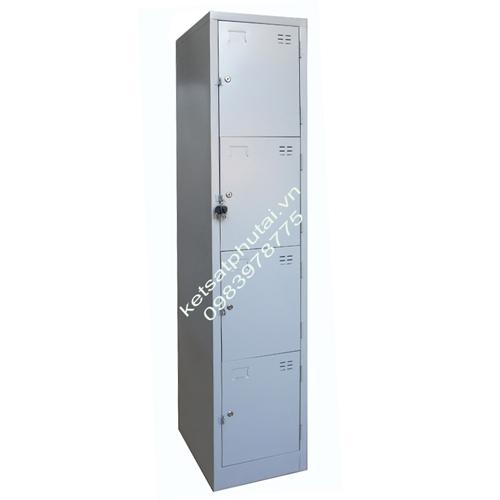 Tủ locker Xuân Hòa đơn 4 tầng VTU984