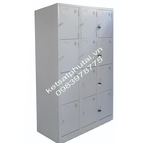 Tủ locker Xuân Hòa 4 tầng nhân 3 VTU984-3K