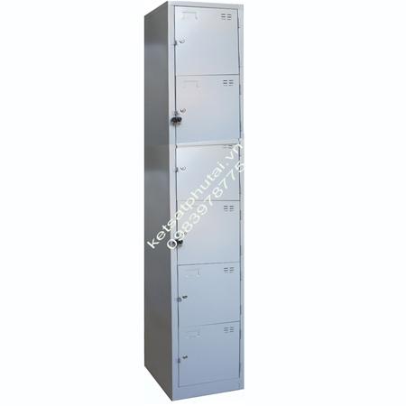Tủ sắt locker Xuân Hòa đơn 6 tầng TU986