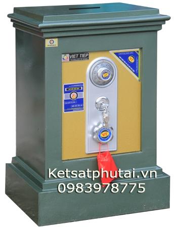 Két sắt công đức khoét nóc Việt Tiệp VK79CD (Đúc đặc)