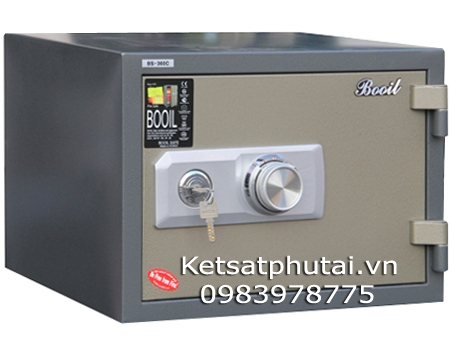 Két sắt Booil nhập khẩu khóa cơ BS-C360