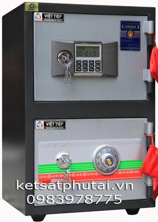 Két sắt Việt Tiệp 2 tầng kết hợp VEC86