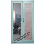Tủ quần áo cánh gương Goonsan xanh TB2CG-X