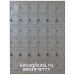 Tủ locker Việt Tiệp 36 ngăn TU986-6K