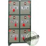 Tủ bảo mật 6 cánh khóa cơ BM-06KC