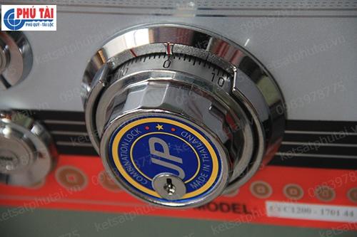 Két sắt cỡ lớn khóa cơ đổi mã Adelbank VC1200