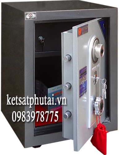 Két sắt giá rẻ mini Việt Tiệp VK55 đúc đặc (mẫu mới)