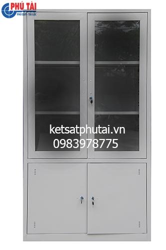Tủ hồ sơ Việt Tiệp cánh kính VTU09K3-CK