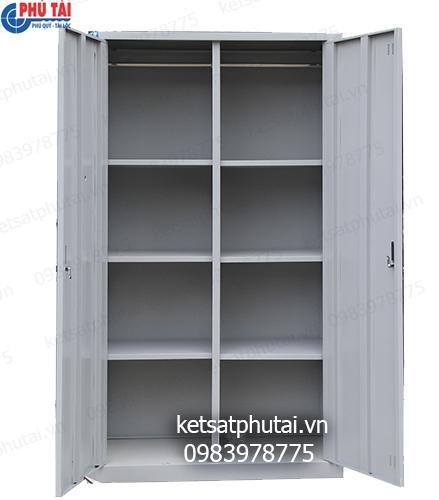 Tủ hồ sơ Việt Tiệp 2 cánh 8 ngăn VTU09K2