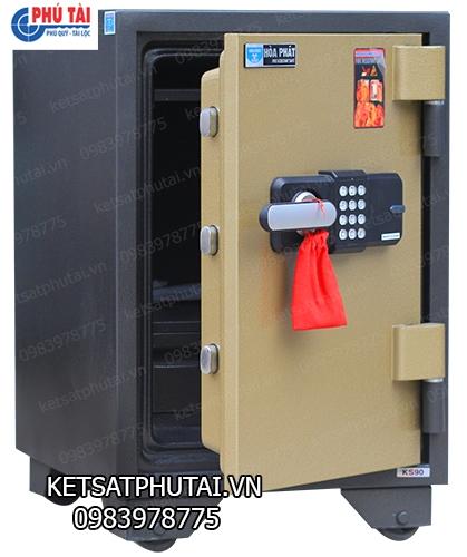 Két sắt điện tử Hòa Phát KS90E-PRO