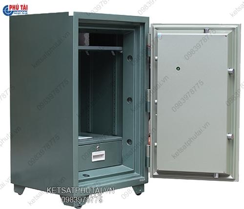 Két sắt  Hòa Phát khóa cơ đổi mã cao1270 KS250-K2C1
