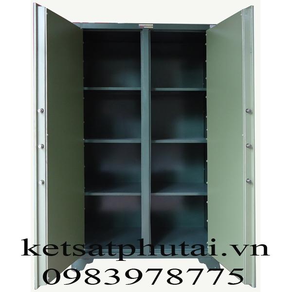 Tủ bảo mật 2 cánh khóa cơ  BM-02KC