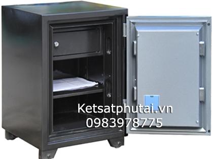 Két sắt gia đình khóa điện tử Adelbank VE630